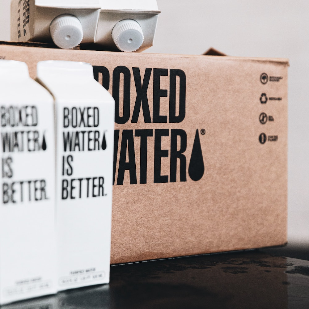 Tetra Pak boxes.